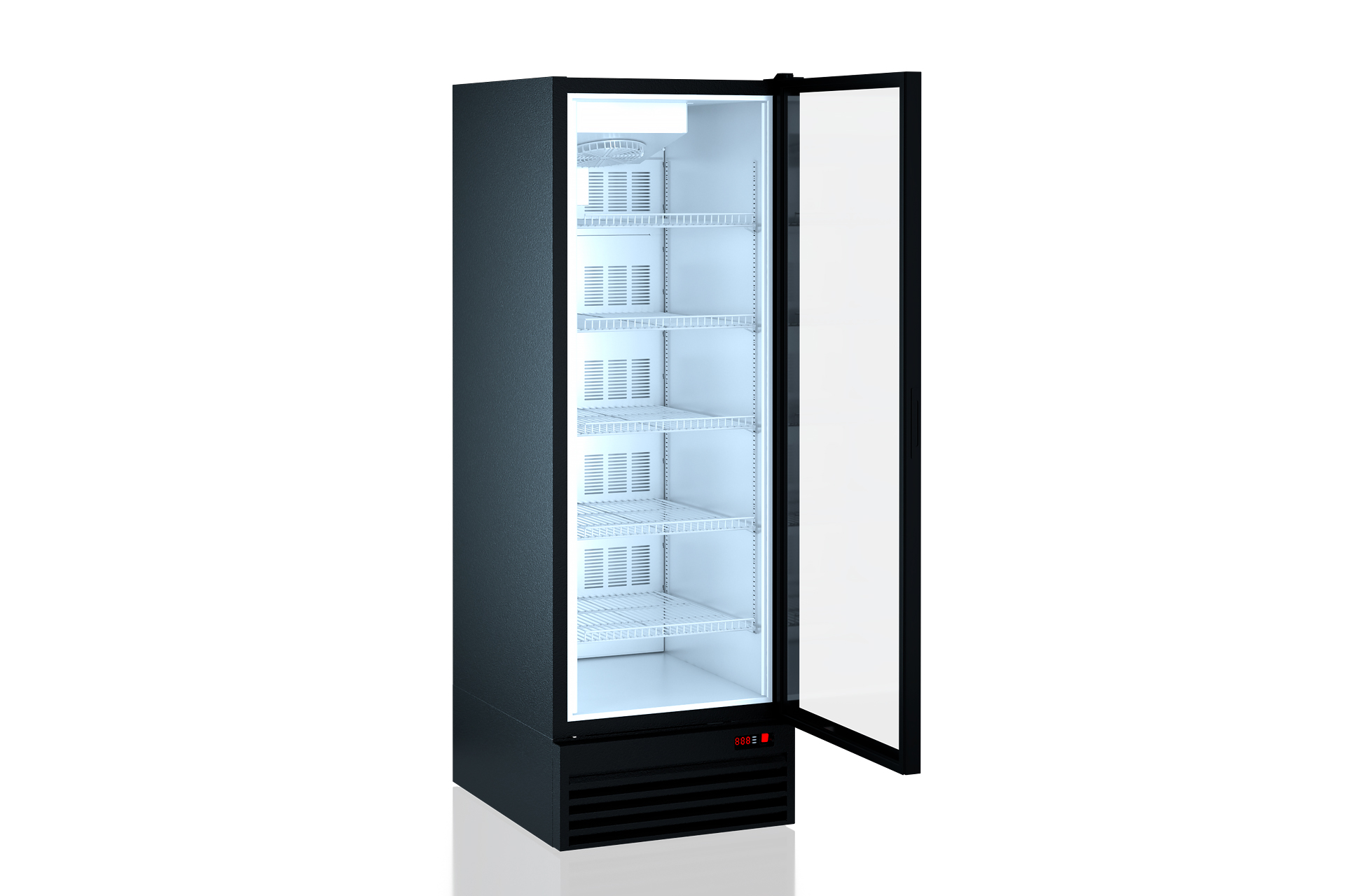 Refrigerated cabinets Kansas A1SG 087 LT 1HD 210-D700A-069 (with Teknodor door)
