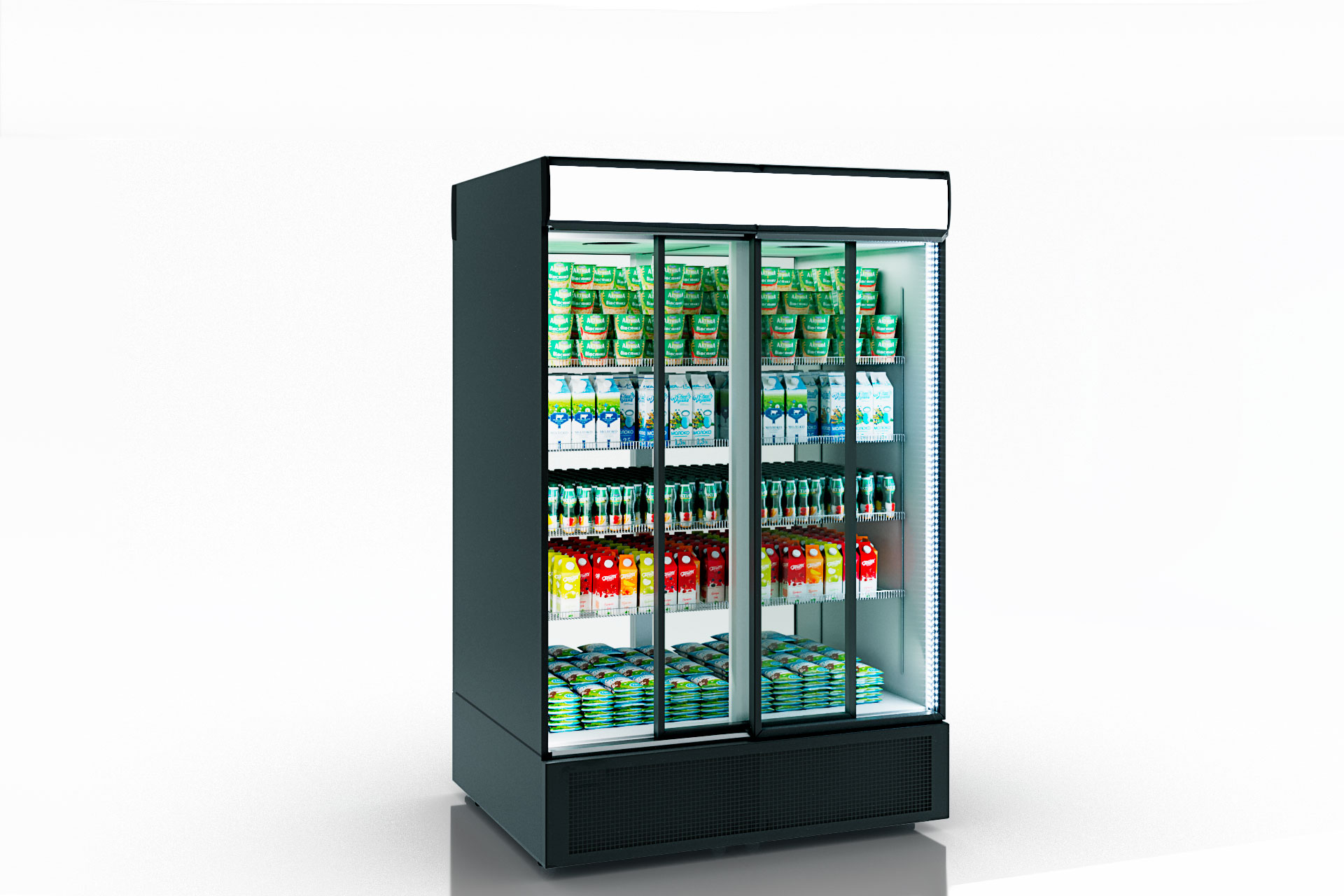 Refrigerated cabinets Kansas А2SG 055/085 HT SD 210-D600/D1200A-132