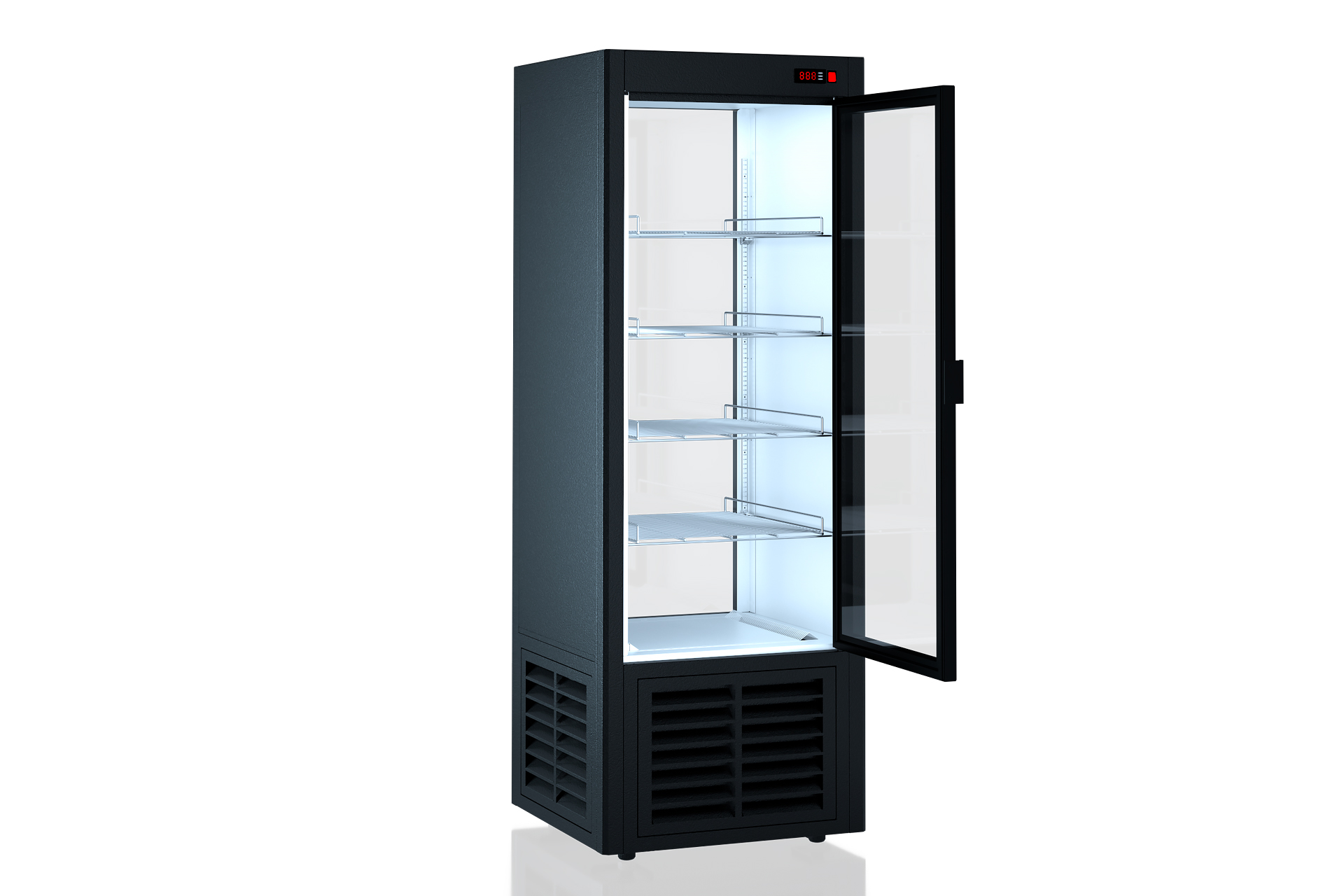Refrigerated cabinets Kansas А2SG 070 HT 1HD 210-D600A-070 (by the seller)