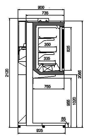 Cabinet Kansas АV 093 HLT D 210-D800A-250