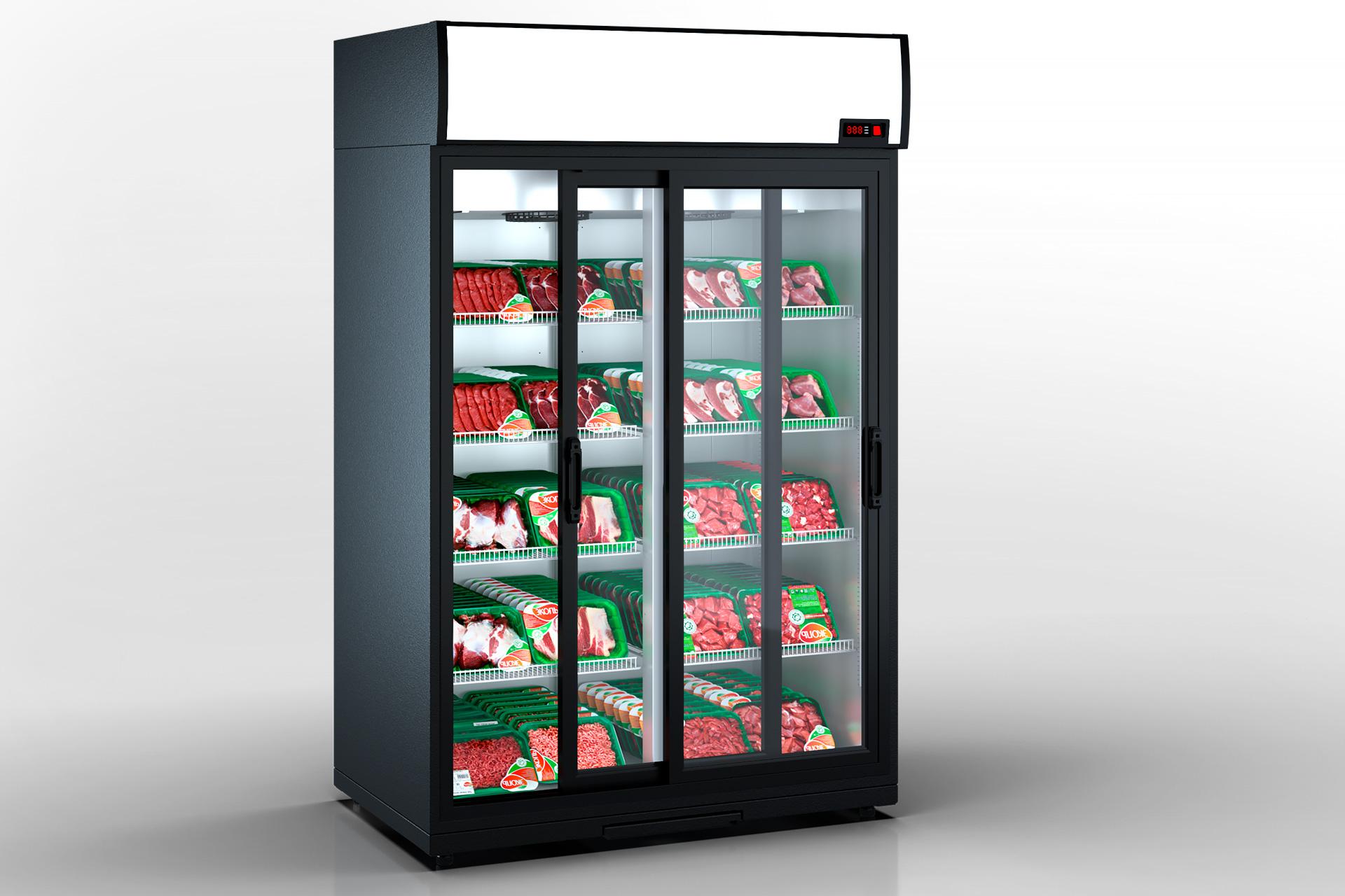 Refrigerated cabinets Kansas VА1SG 080 MT/HT SD 210-D1200A-132