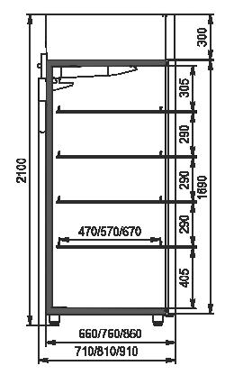 Szafy chłodnicze VАZG 066/076/086 MT/HT 1HD 210-D500/D600/D700A-065