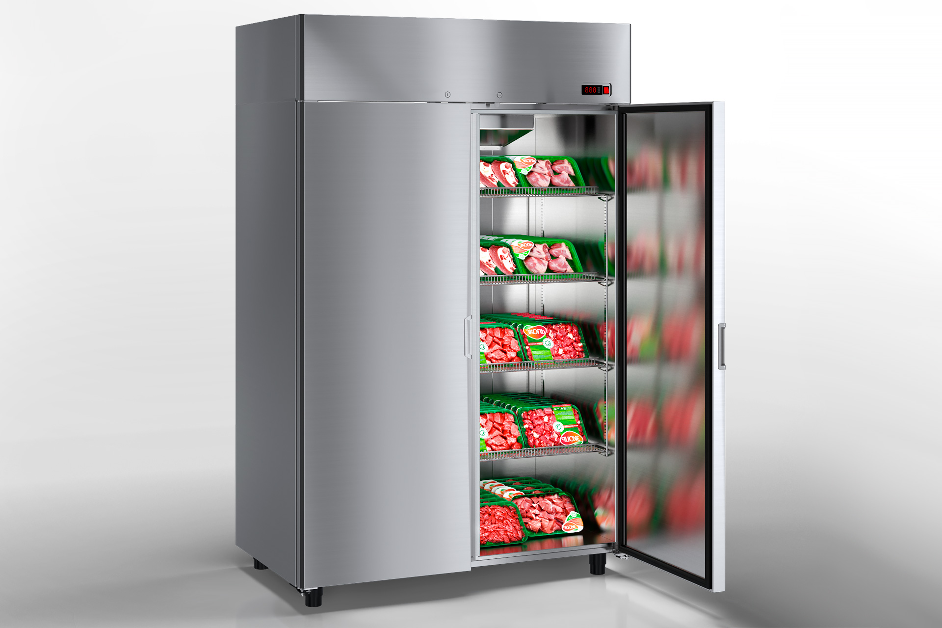 Szafy chłodnicze Kansas VAZG 066/076/086 HT 2HD 210-D1100/D1300/D1500A-132