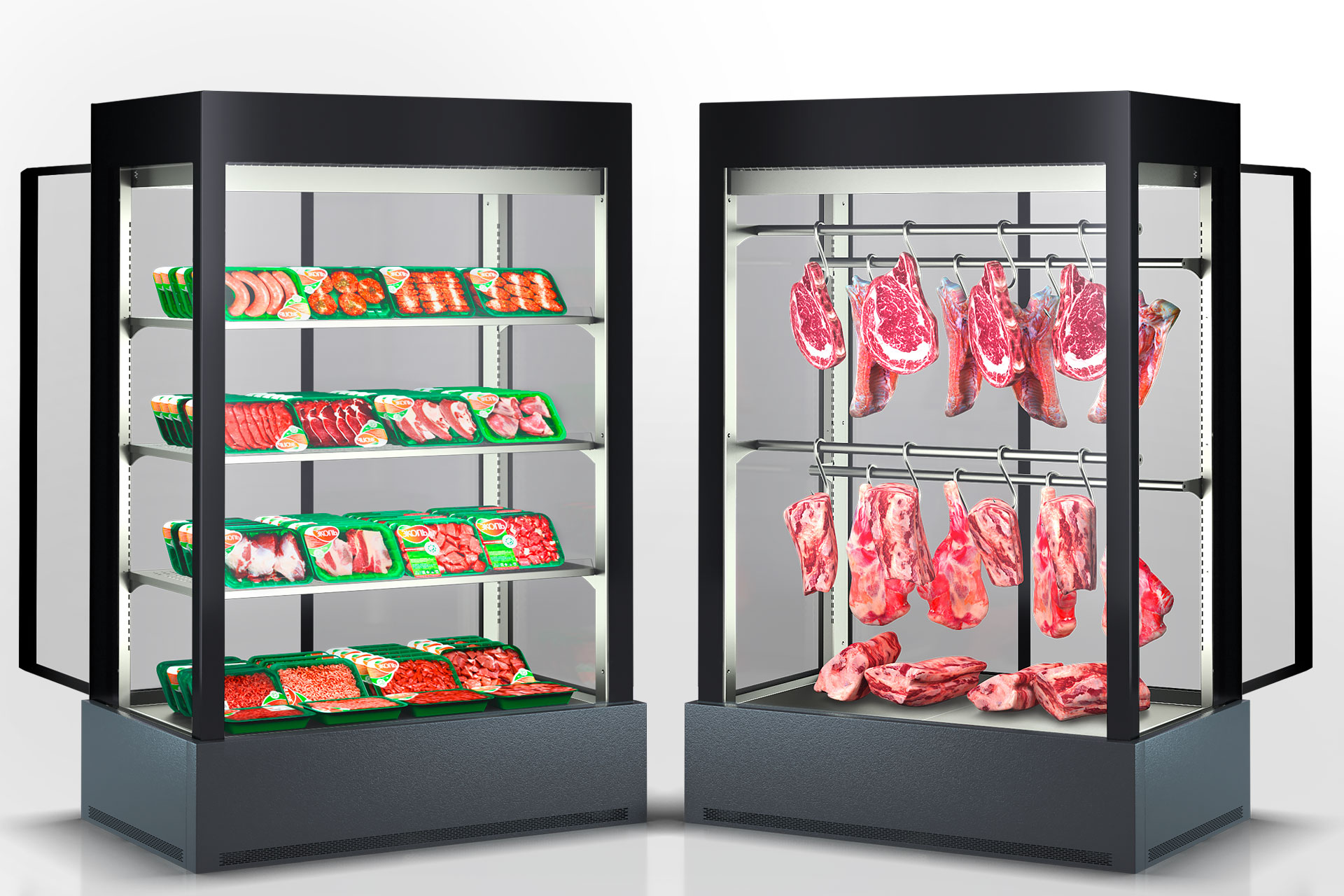 Refrigerated cabinet Kansas А4SG 078 meat 2HD 210-S1000A-135
