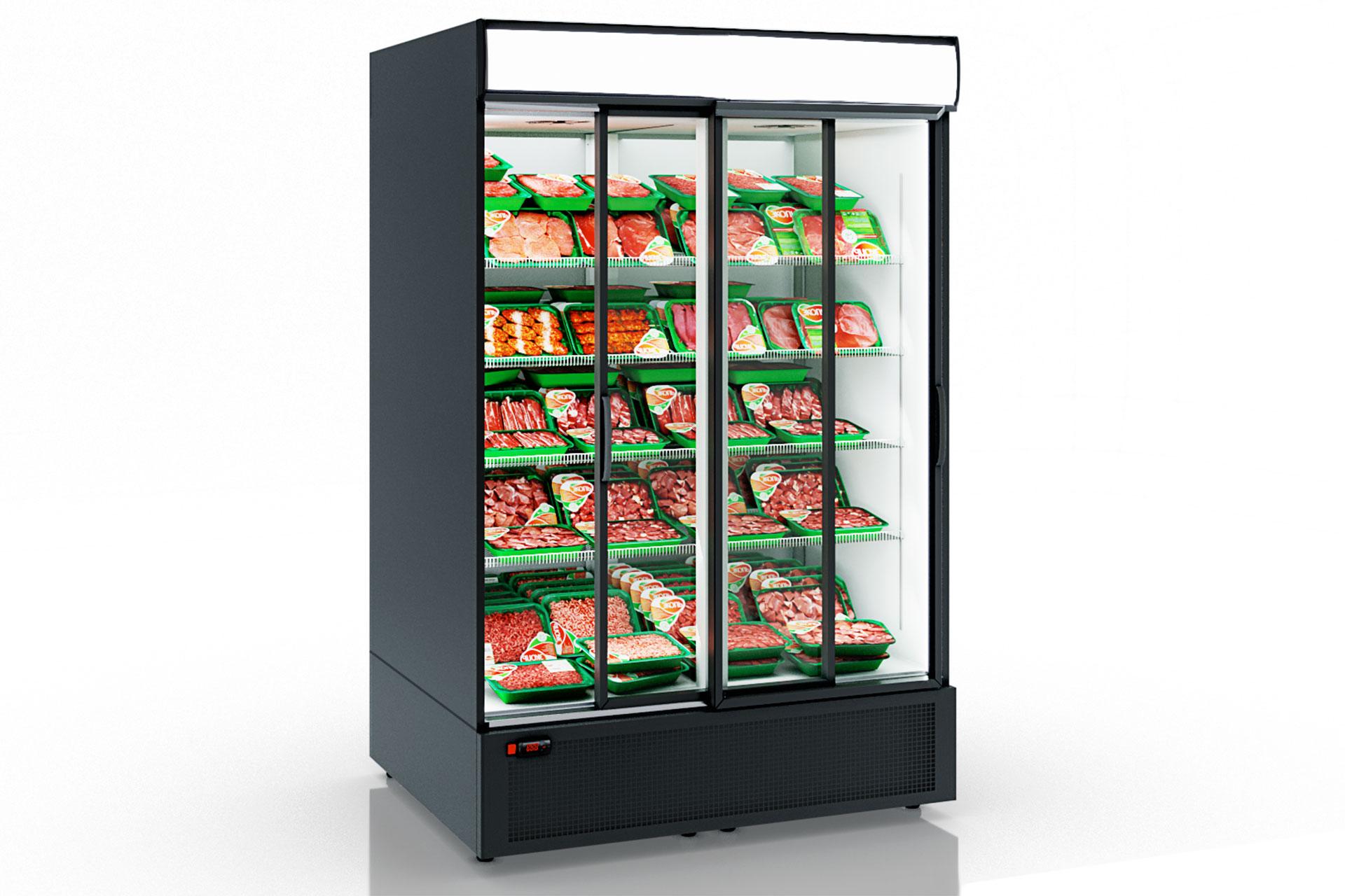 Refrigerated cabinets Kansas A1SG 050/080 MT/HT SD 210-D800/D1200A-132
