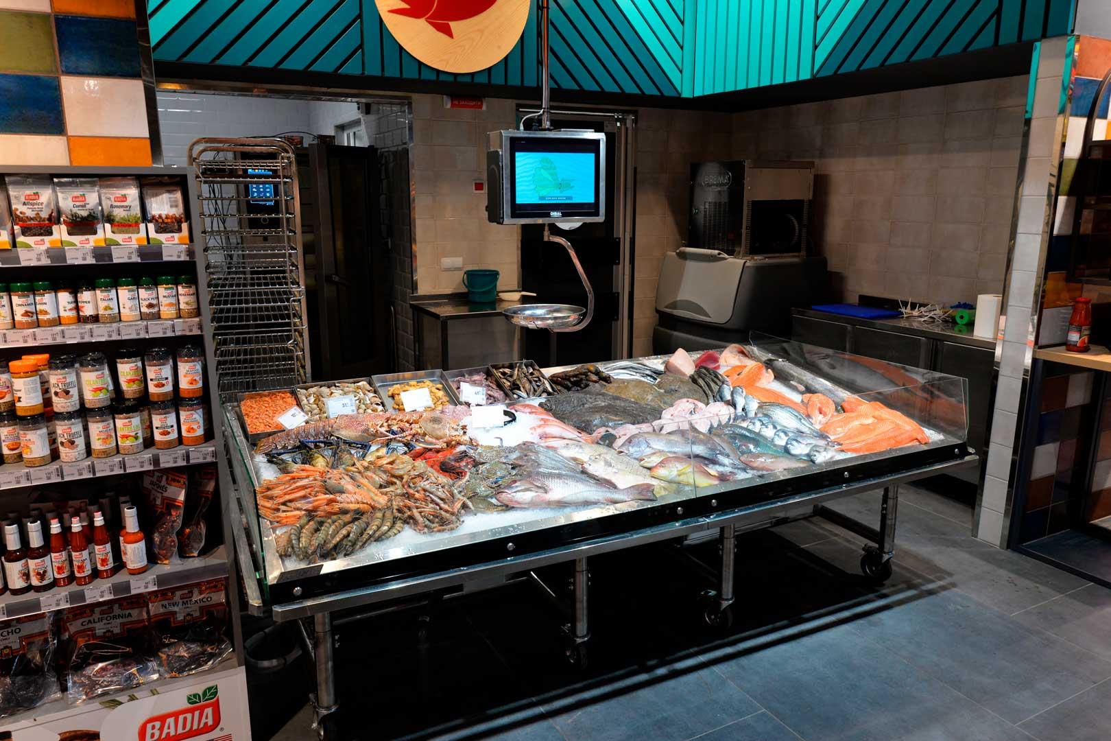 """Urządzenia impulsowe Virginia AK 132 ice self A, supermarket """"Epicentr"""" Kijów"""