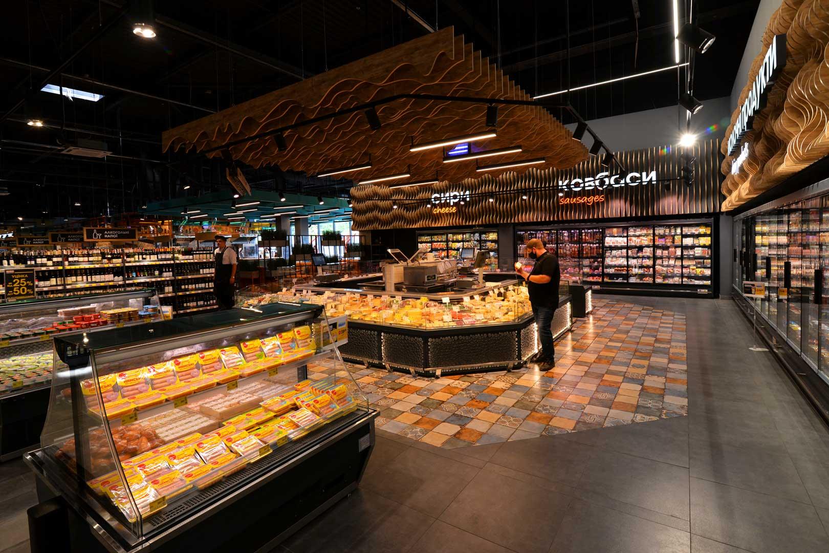"Promotional merchandiser Virginia AI 120 deli self A, supermarket ""Epicentr"" Poltava"