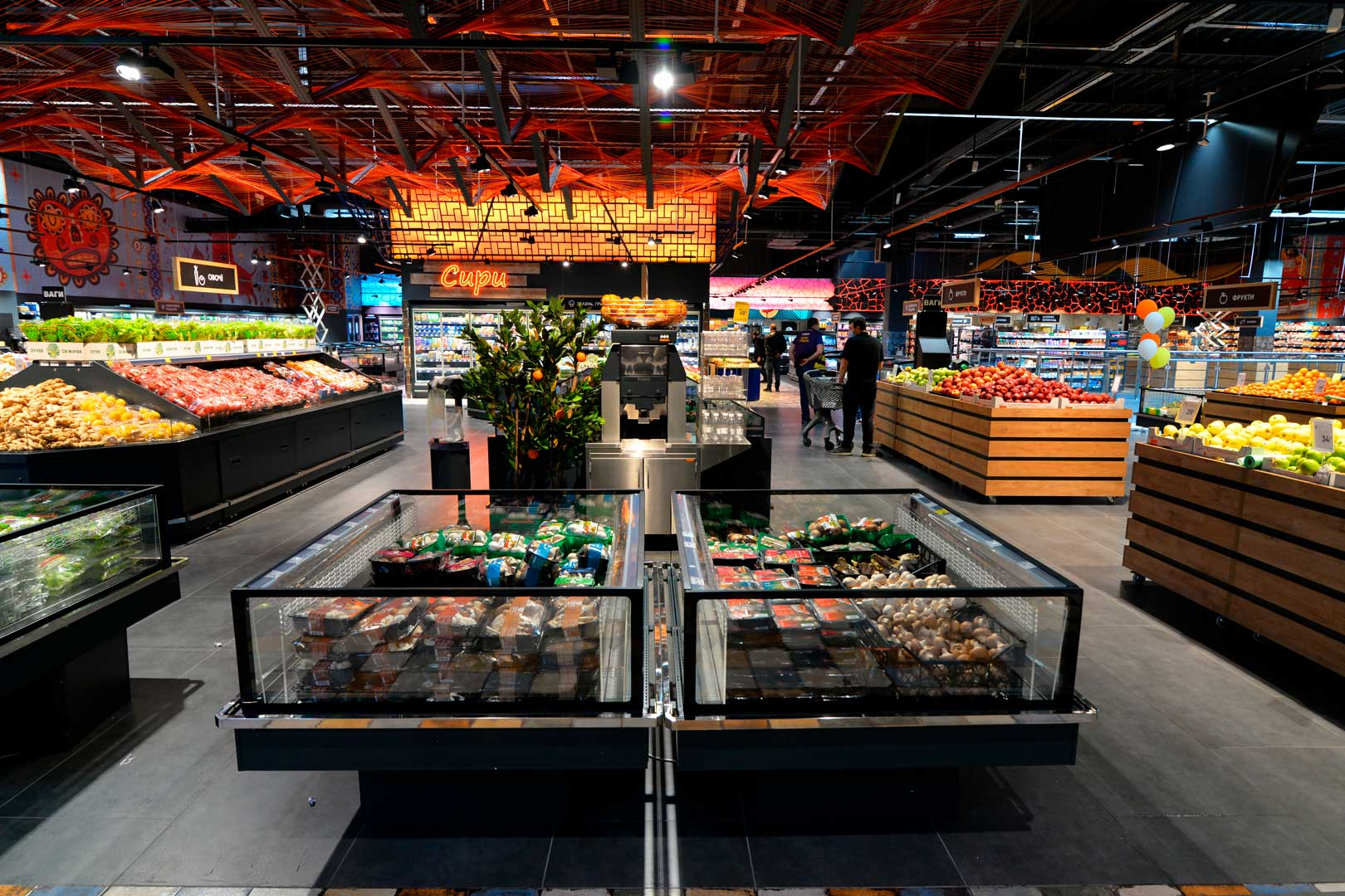 "Promotional merchandiser Virginia AC 120 deli self A, supermarket ""Epicentr"" Kiev"