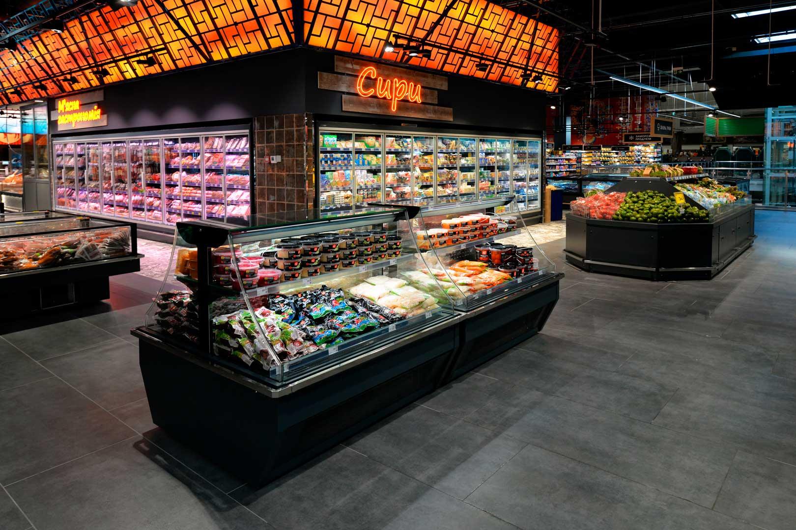 """Urządzenia impulsowe Virginia AI 120 deli self A, supermarket """"Epicentr"""" Kijów"""