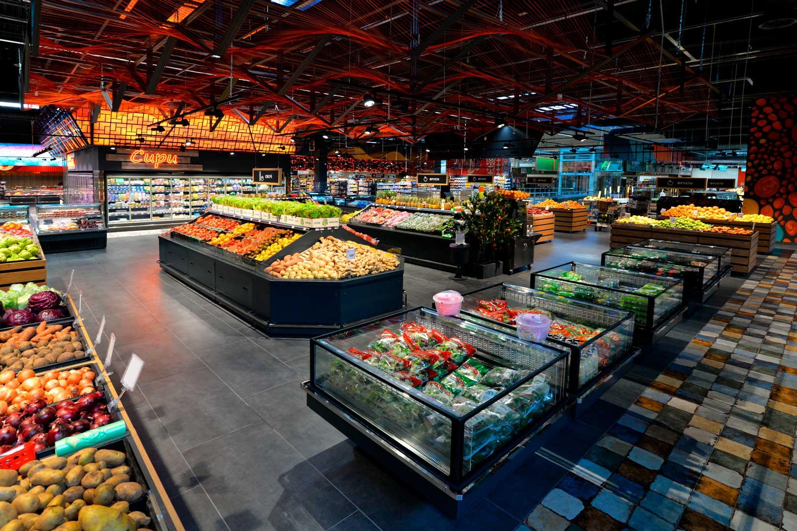 """Urządzenia impulsowe Virginia AC 120 deli self A, supermarket """"Epicentr"""" Kijów"""