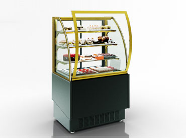 Confectionery counters Dakota snack AG 080 patisserie OS 160-DBA