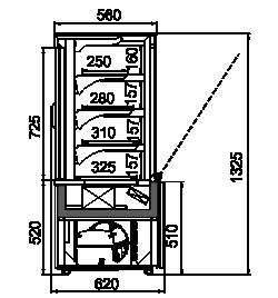 Dakota cube OS 60/130 (R290)