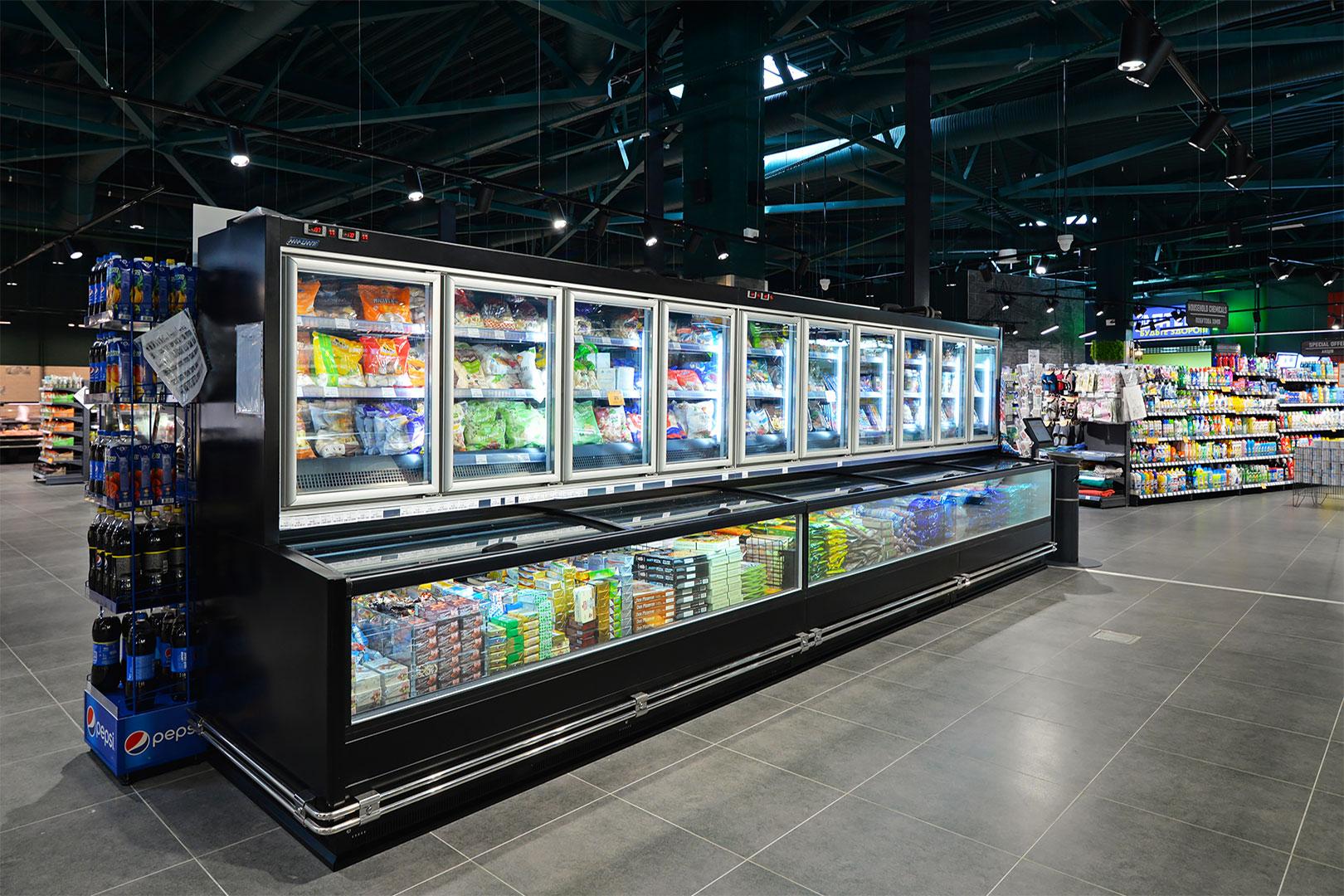 "Frozen foods units ""Alaska combi 2 MD MHV 110 LT D/C 200-DLM"""