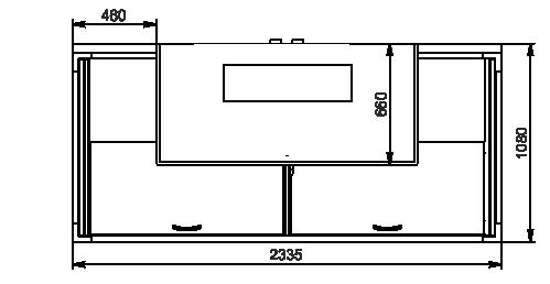 Urządzenia do żywności mrożonej moduł końcowy Alaska combi 2 MD MHV 110 LT D/C 200/220-DLM