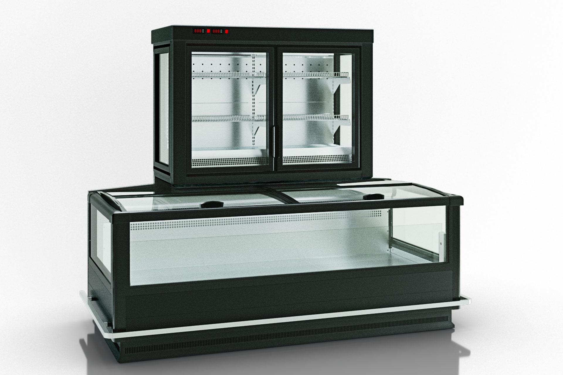 Frozen foods units Alaska combi 2 MD MHV 110 LT D/C 200-DLM-TL