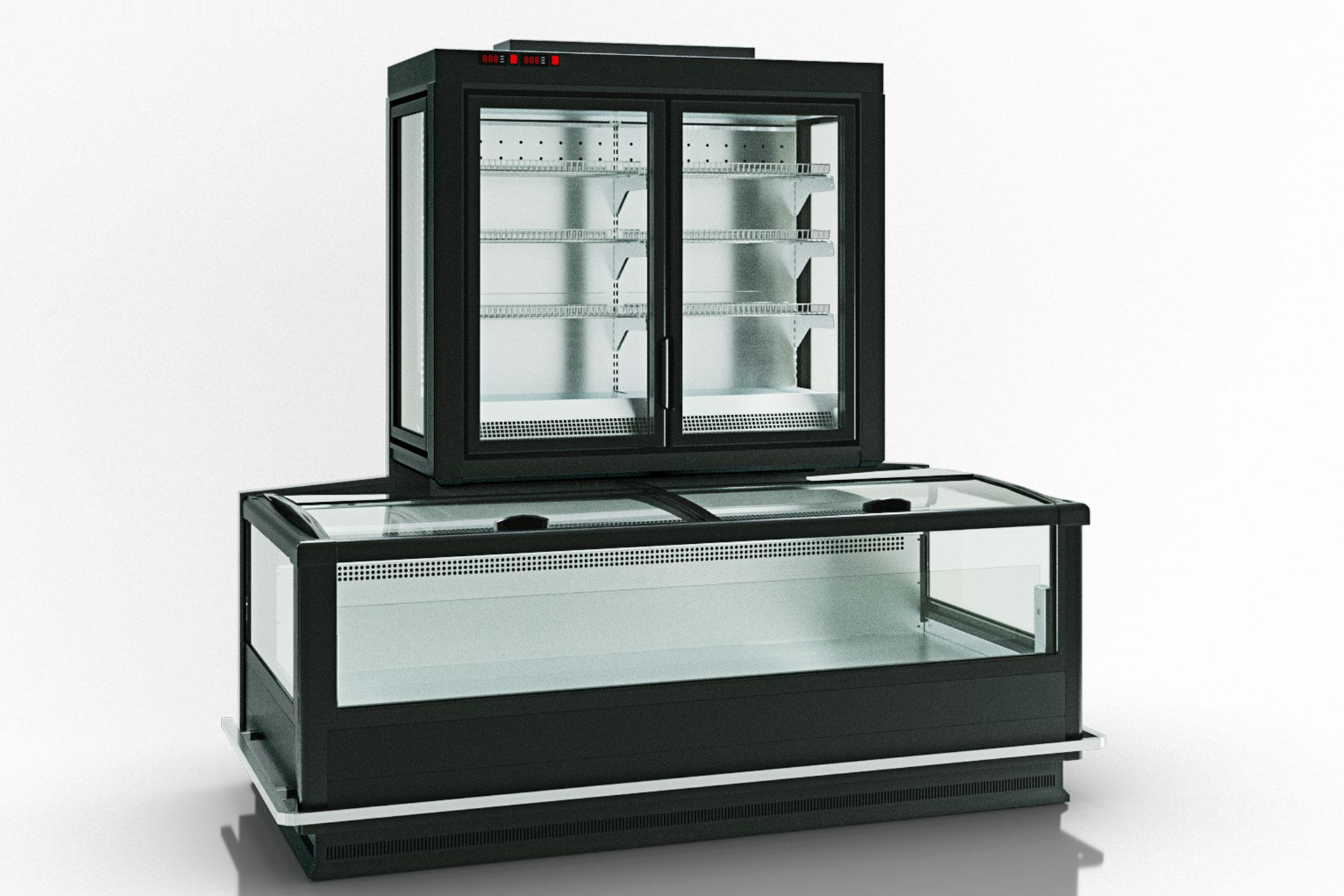 Frozen foods units Alaska combi 2 MD MHV 110 LT D/C 220-DLM-TL