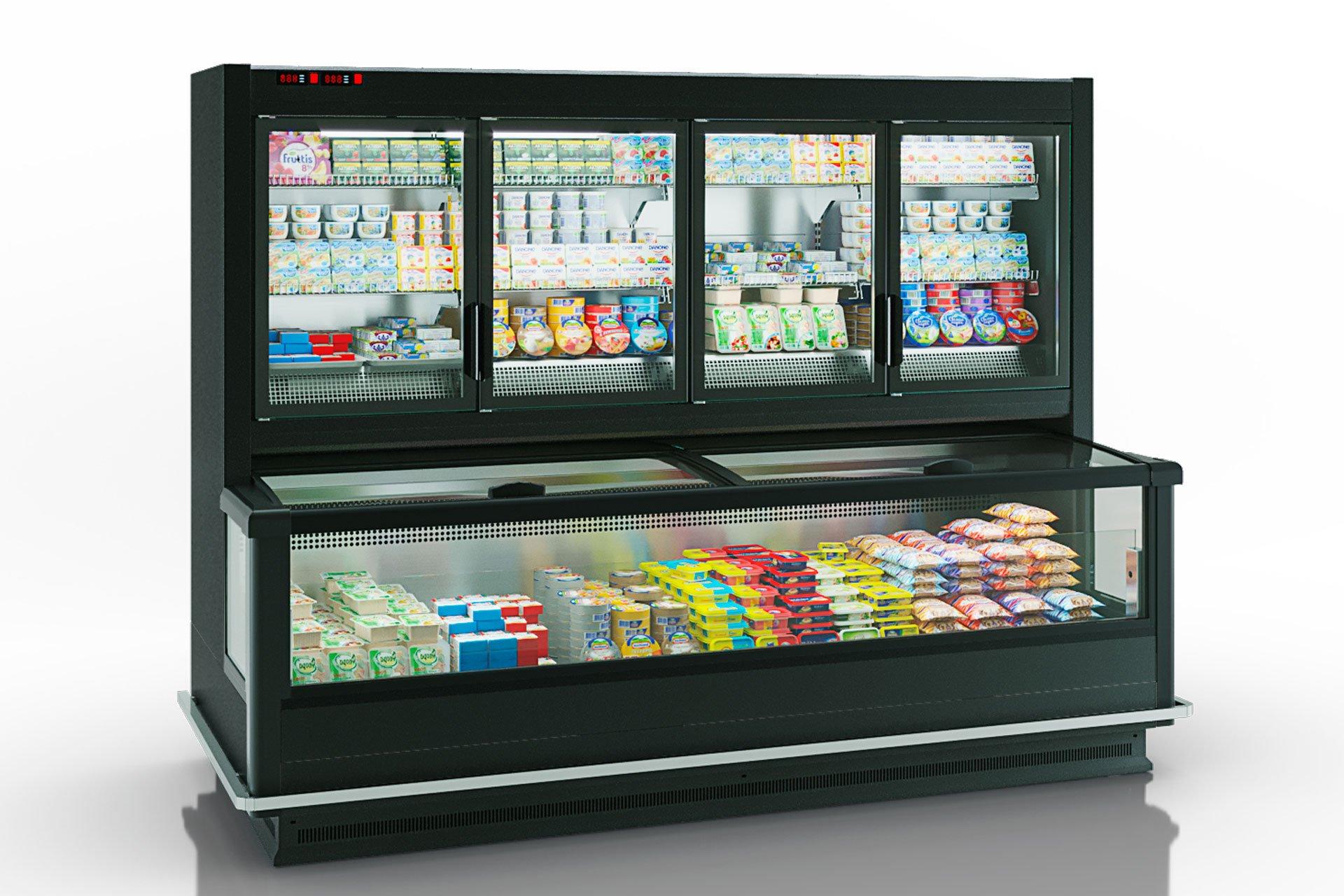 Frozen foods units Alaska combi 2 MD MHV 110 LT D/C 220-DLM