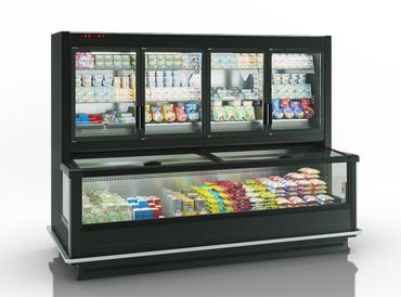 Frozen foods units Alaska combi 2 MHV 110 LT D/C M