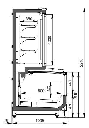 Urządzenia do żywności mrożonej Alaska combi MHV 110 LT D/C 220-DLM