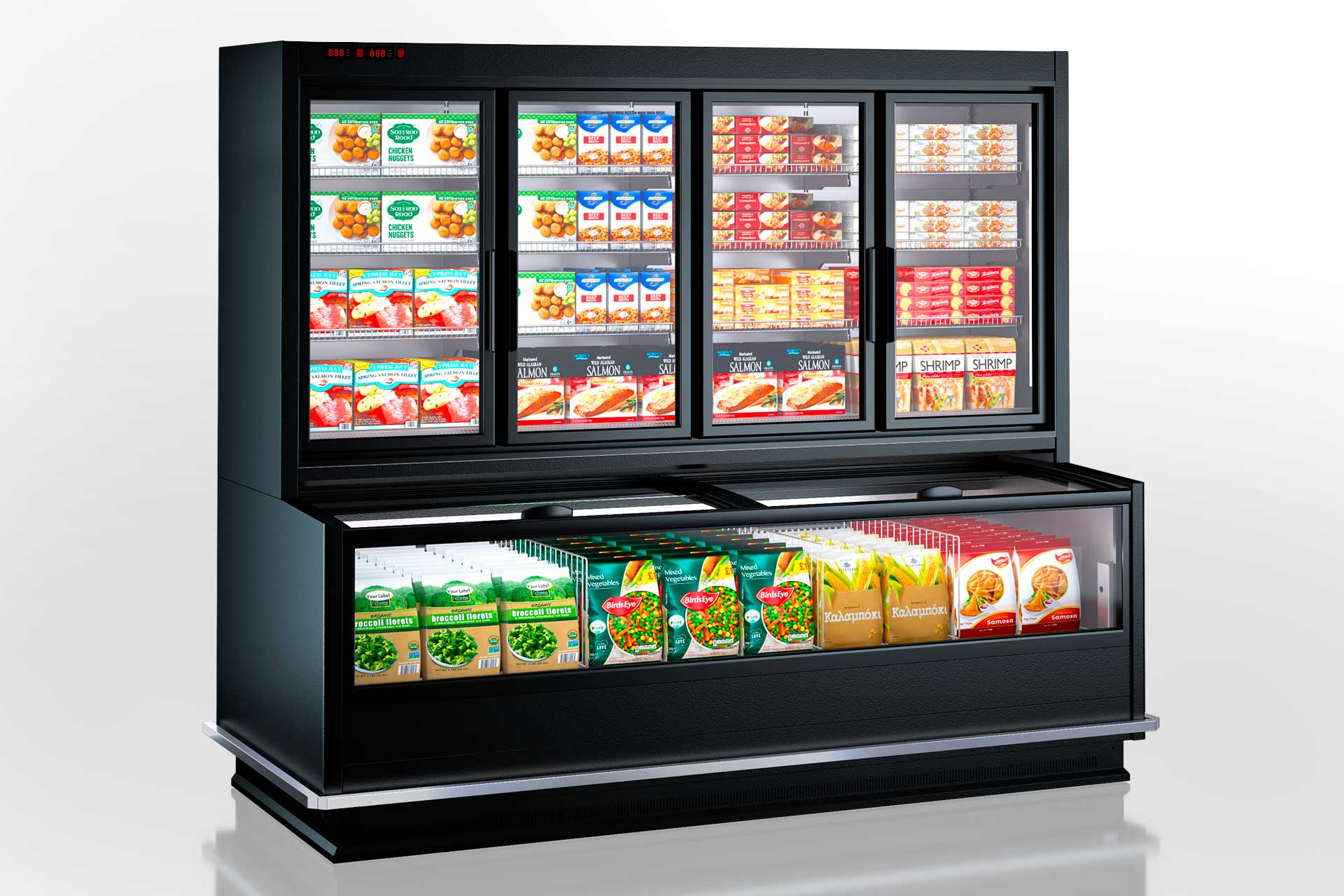 Frozen foods units Alaska combi MHV 110 LT D/C 220-DLM