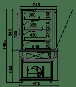 Dakota cube OS 85/150 (R290)