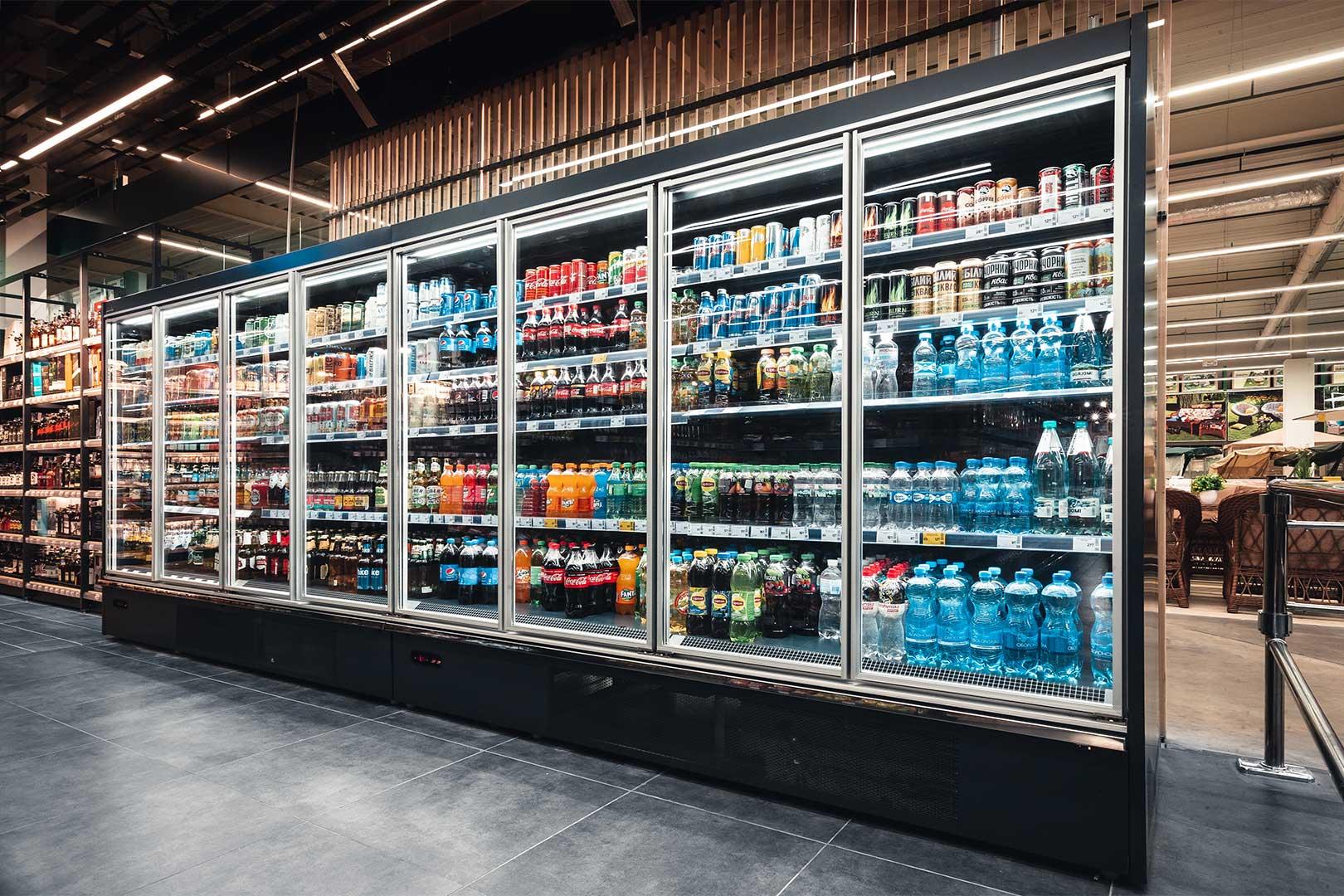 Multideck cabinets Indiana medium AV 085 MT D 210-DLA