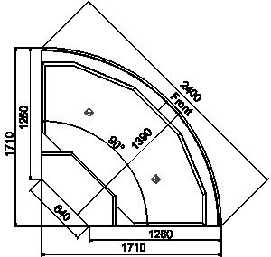 Missouri cold diamond ice - angular element