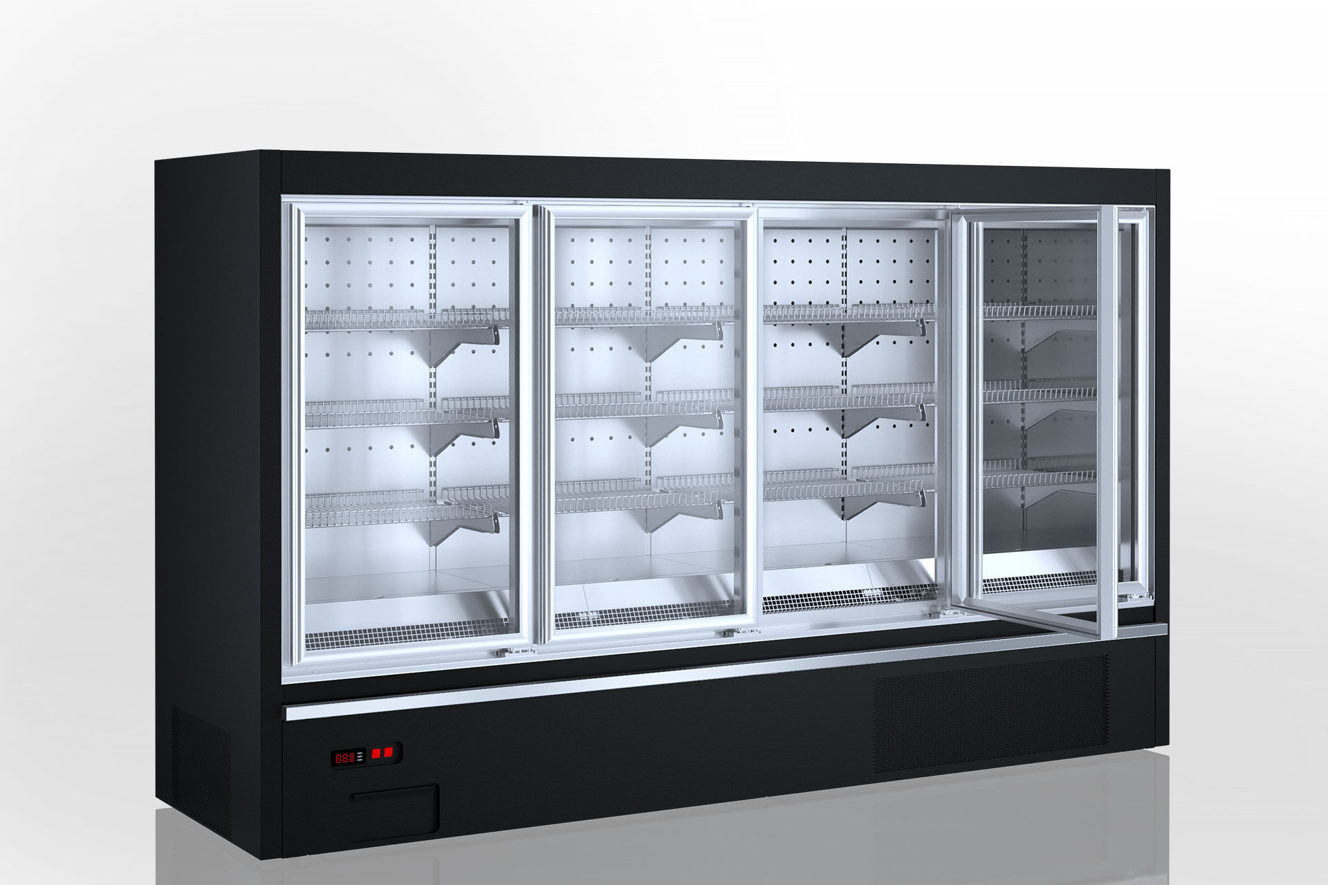 Refrigerated semi-vertical cabinets Indiana eco AV 070 LT D 160-DLA