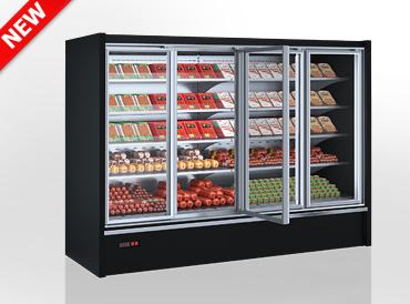 Niskie regały chłodnicze Indiana eco medium ASV 070 MT D 170-DLM/DLA