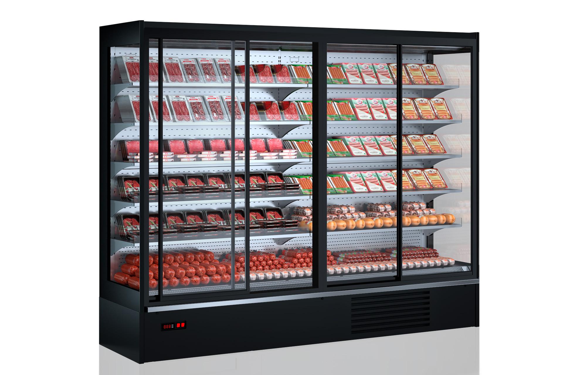 Multideck cabinets Indiana medium AV 085 MT D 210-DLM