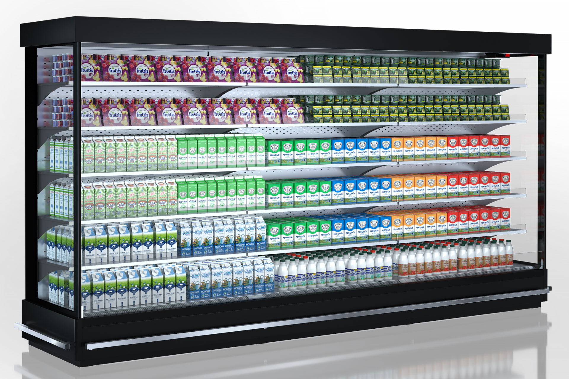Refrigerated multideck cabinets Indiana MV 070/080/090/100 MT O 205/220-DLM