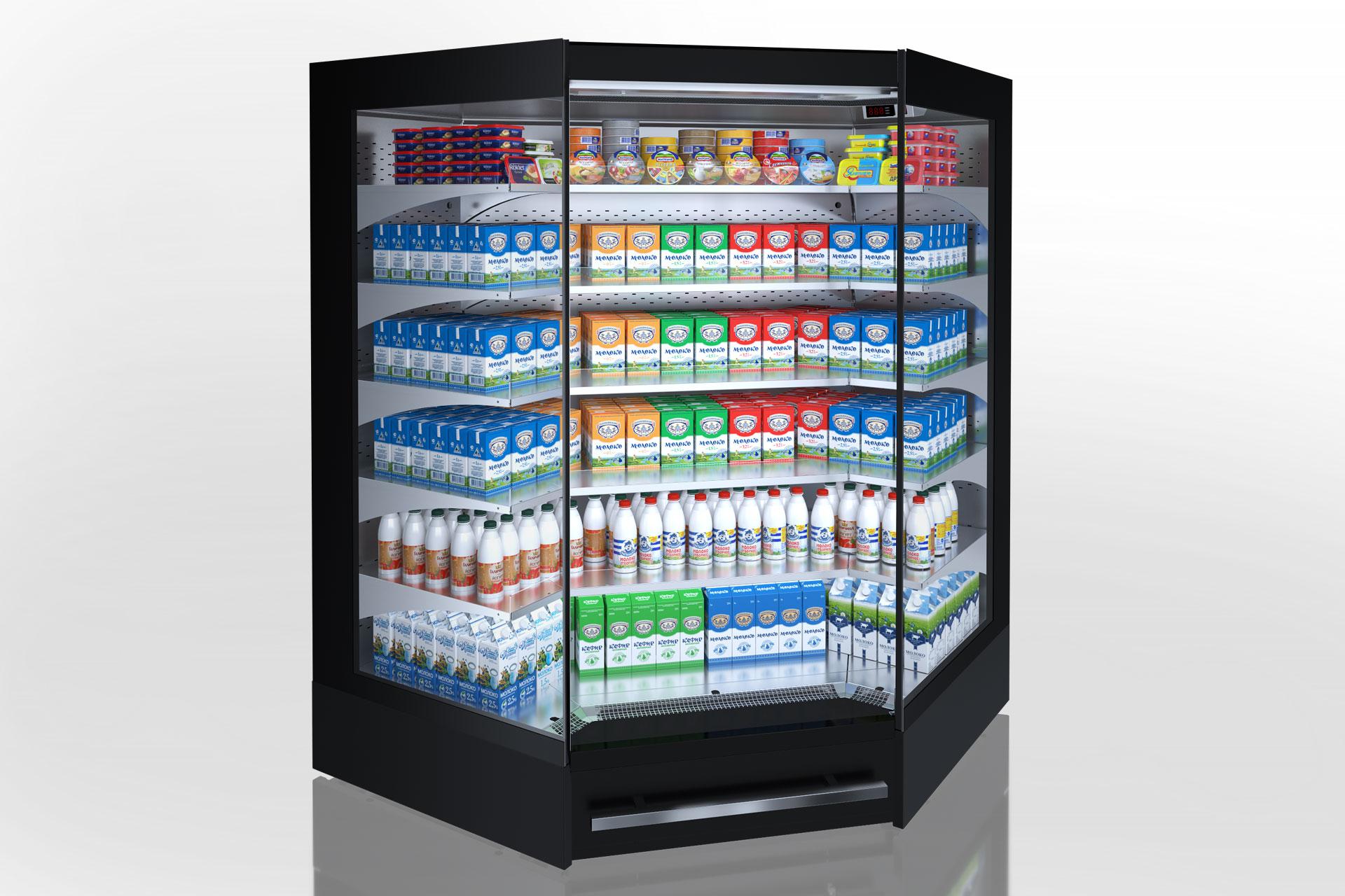 Multideck cabinets Indiana MV 080 MT O 205-DLM-IS90