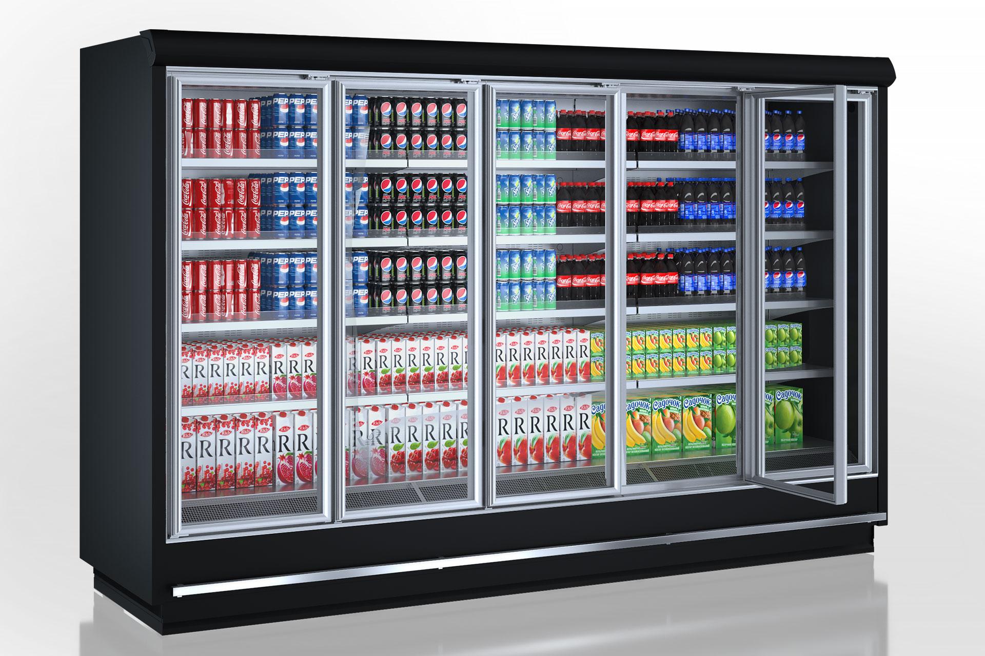Multideck cabinets Indiana tandem MD 090 MT D 210-DLM