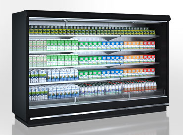 Multideck cabinets Indiana tandem MV 090 MT O 210-DLM