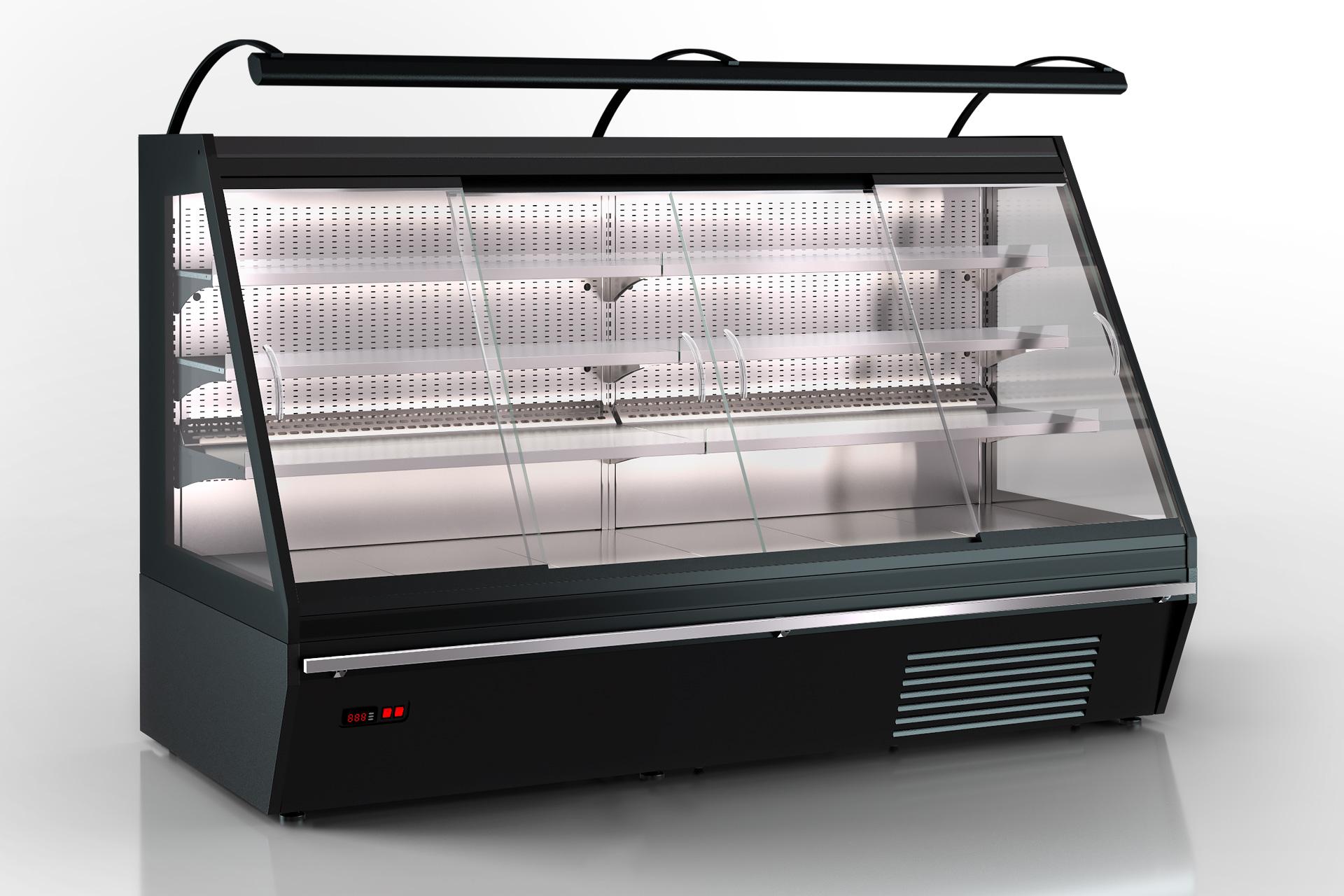 Niskie regały chłodnicze Louisiana eco ASV 115 MT D 160-DLA (option)