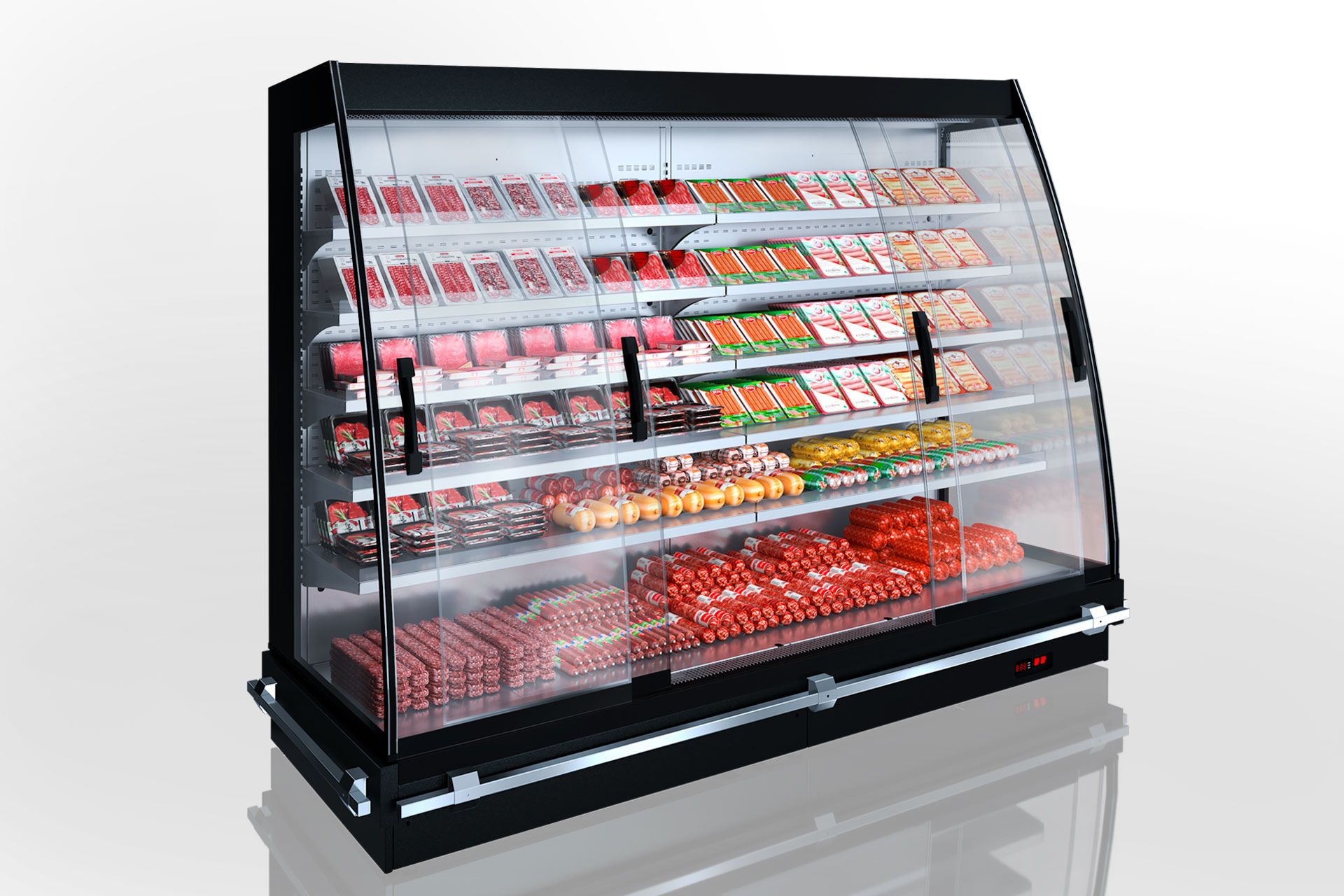 Semi-vertical cabinets Louisiana eco MSV 095 MT D 200-DLM