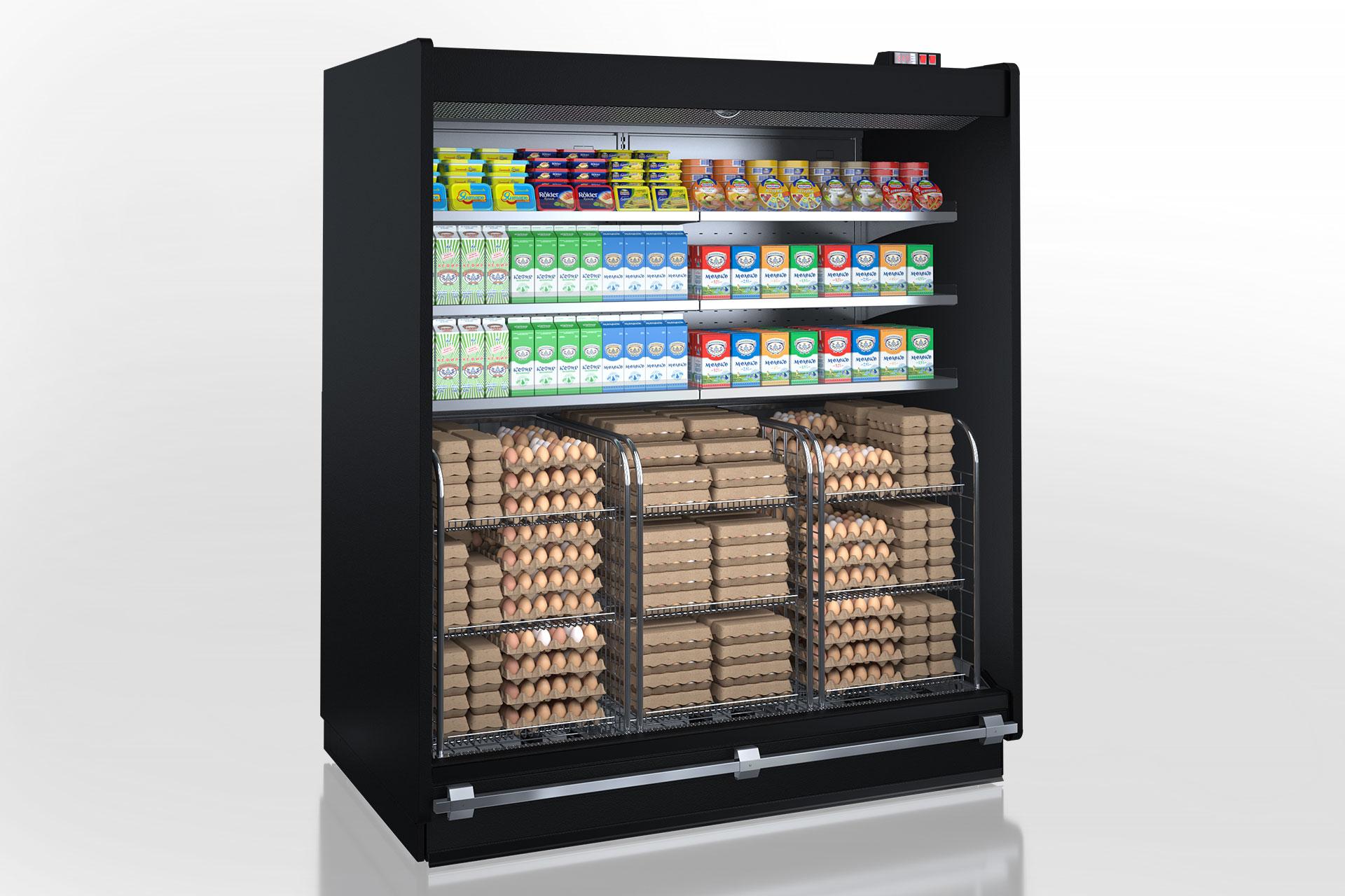 Multideck cabinets Louisiana roll-in MV 115 MT O 225-DLM