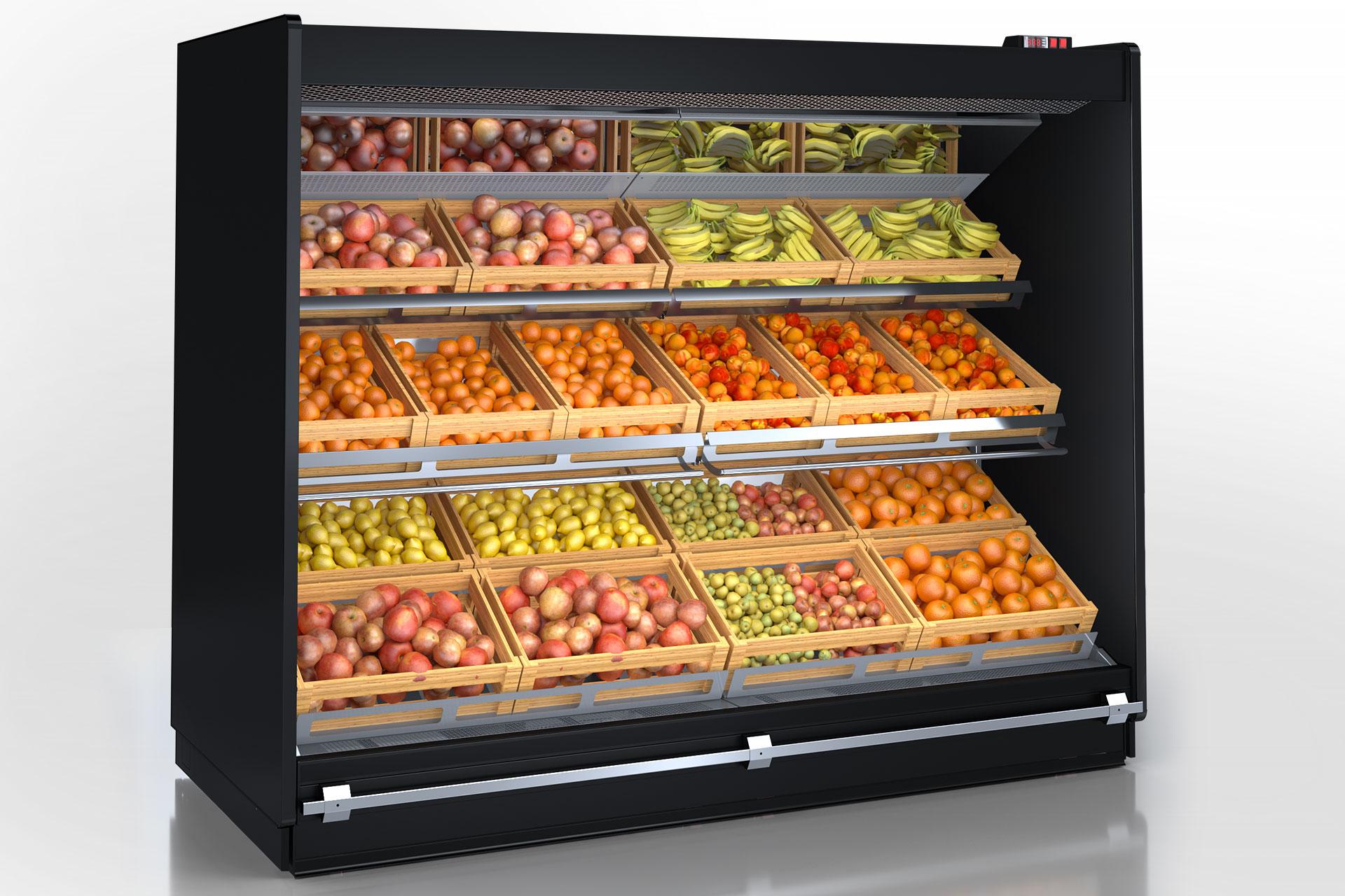 Multideck cabinets Louisiana roll-in VF MV 115 MT O 225-DLM