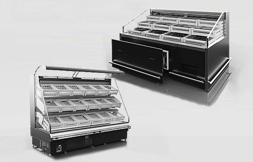 Sprzęt chłodniczy dla sklepów - agregat wewnętrzny