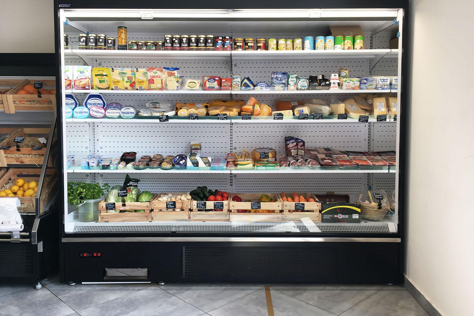 Refrigerated multideck cabinets Multideck cabinets Indiana medium AV 066 MT O 210-DLA
