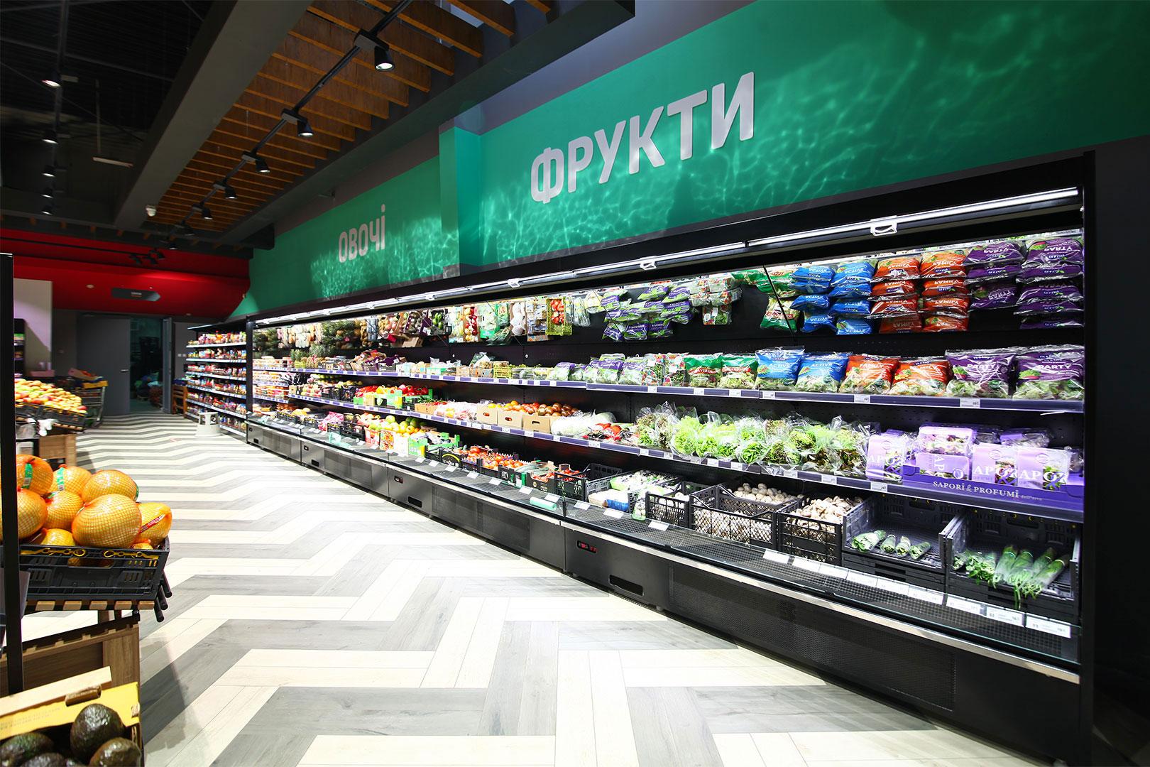 Refrigerated multideck cabinets Indiana medium AV 085 MT O 210-DLA