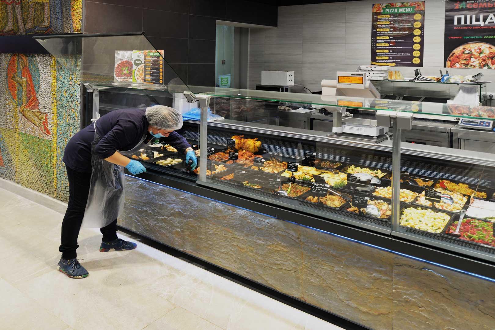 Refrigerated counters Missouri MC 120 deli PS
