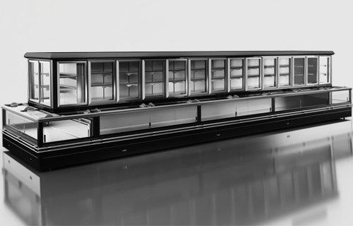 aljaska kombi - Sprzęt chłodniczy dla marketów – agregat zewnętrzny
