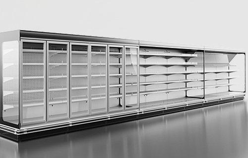 luiziana 2 - Sprzęt chłodniczy dla marketów – agregat zewnętrzny
