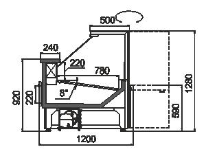 Counters Missouri АC 120 deli RS 130-SBА