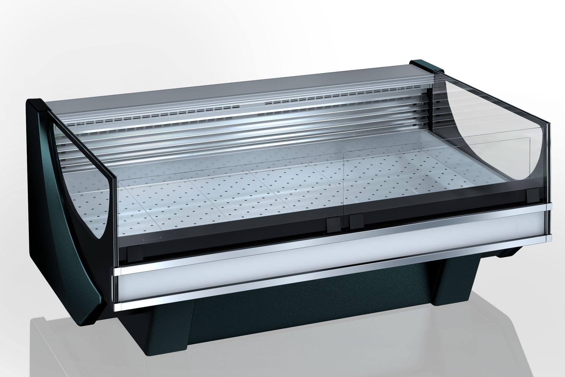 Refrigerated counters Missouri Cold Diamond MC 126 fish self 084-SPLM/SPLA