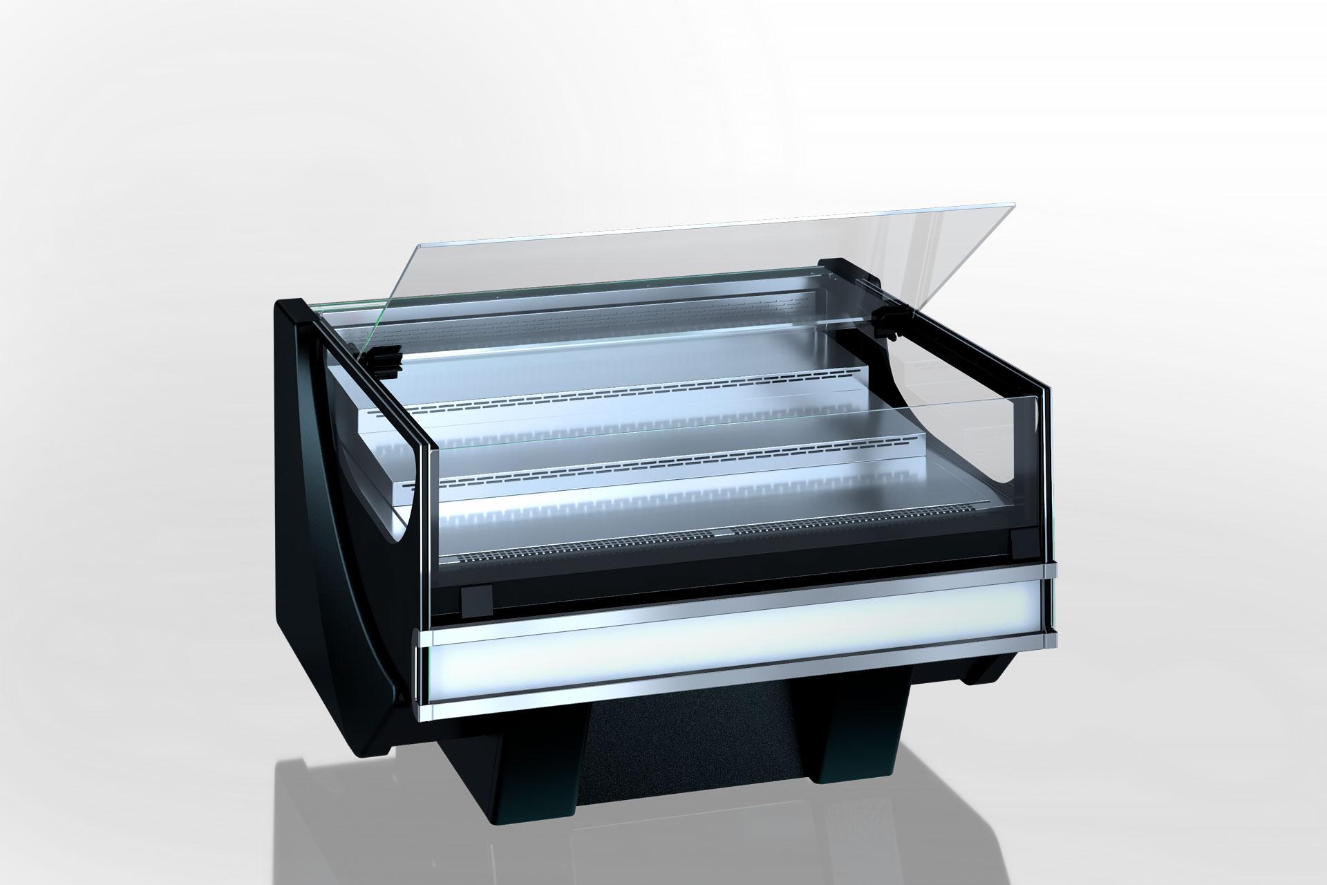 Refrigerated counters Missouri cold diamond MC 126 chocolate self 084-DLM/DLA
