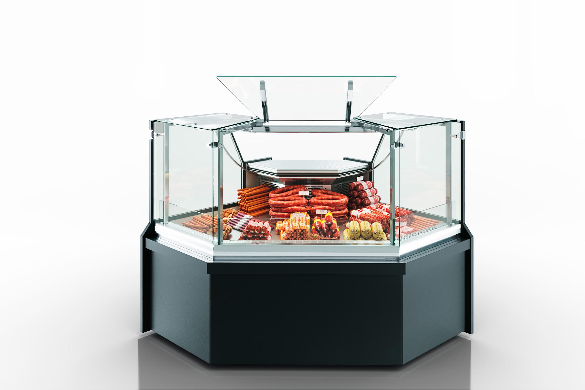Refrigeration сounters Missouri MC 100 deli PS 130-DLM/A-ES90 - angular elements
