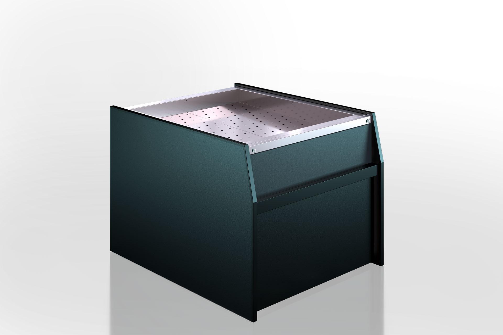 Refrigerated counters Missouri MC 120 ice self 086-SPLM/SPLA