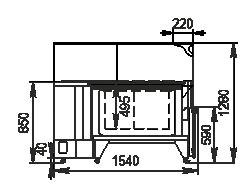 Angular element Мissouri NC120 RT L 130 ES90